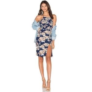 NWT Revolve Lovers + Friends Raven floral dress